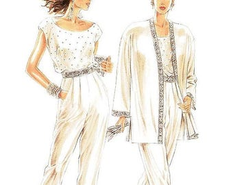 On Sale New Look Separates Pattern 6643 -  Misses' Embelished Jacket, Top and Pants - Sz 8/10/12/14/16/18