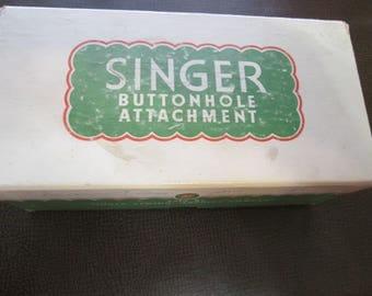 Singer Buttonholer Attachment 121795
