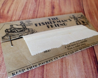 Vintage 40's tissues Fisherman's Friend