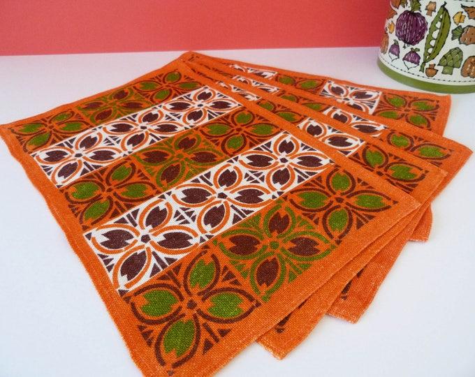 Vintage linen place mats