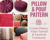 Pillow and Pouf Crochet P...