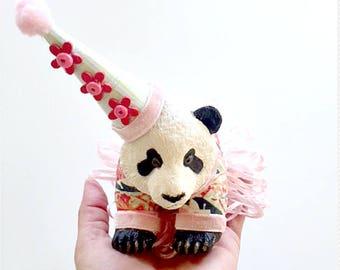 Patti the Party Panda Cake Topper