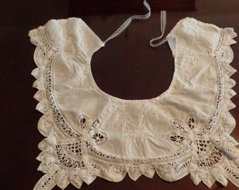 Handmade Lace Costume Collar