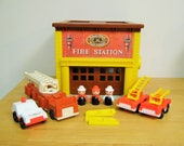 Vintage Fisher Price Fire Station