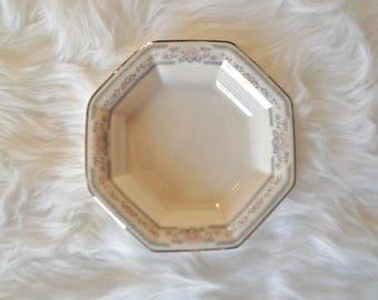 Vintage Lenox Candy Dish, Lenox Charleston Pattern, Lenox Open Candy Dish, Vintage China, Bridal Luncheon Dish, Tea Party China