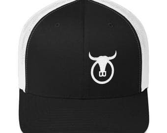 "White"" Trail Boss Originals Trucker Cap"