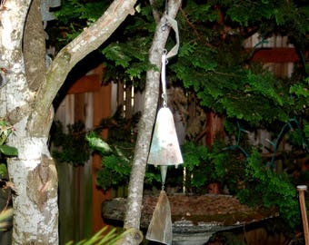 "Paolo Soleri (1919 – 2013)  24"" Modernist Arcosanti Bronze Wind Bell / Wind Chime / Wind Sculpture ~ 1960's  Student of Frank Lloyd Wright."