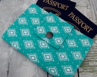 Dollbirdies Original Small Deluxe Passport Travel Wallet, Passport Holder, Passport Case, Wallet, Travel Wallet