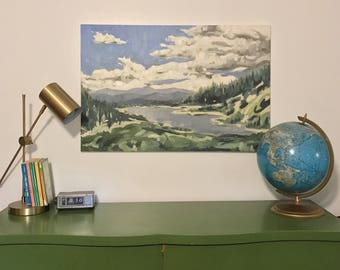Original Oil Painting Landscape Painting Large Oil Painting Large Original Landscape Gallery Wall Art Canvas Painting
