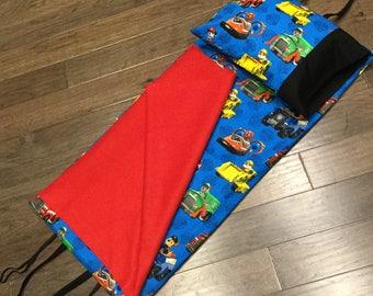 Kindermat Nap Mat Cover - Paw Patrol Blue