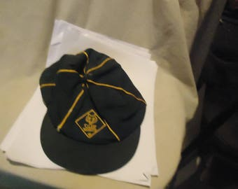 "Vintage Boy Scouts Cub Scouts Hat 7 1/8"". collectable"