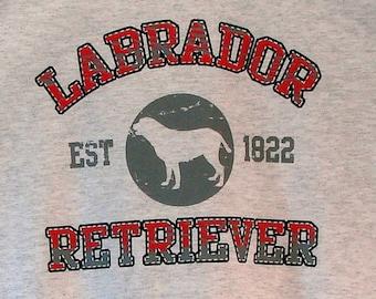 Womens TANK TOP Labrador Retriever Dog Choose Size and Color 17416