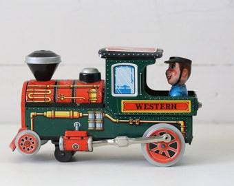 Vintage toy train Antique toys