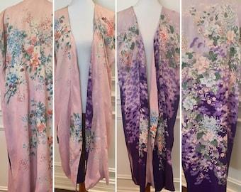 Silk Kimono - Reversible