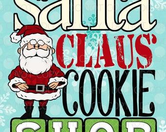 Printable Set of 3 Subway Art Prints - 11x14 - Christmas Rudolph Santa Clarice inspired
