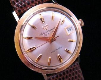 Jules Jurgensen - Solid 14kt Gold - Automatic & Calendar