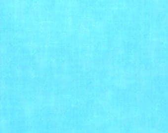 "Aqua Blender 108"" wide back 100% cotton fabric"