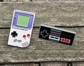 Enamel Pin Nintendo Game Boy Nintendo Controller Nintendo Enamel Pin 8 Bit Art