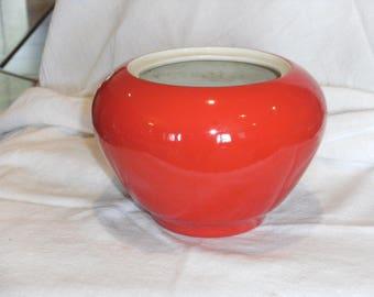 Vintage Red Kraft Foods Jar
