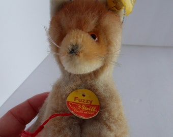 Steiff fox  miniature all IDs made in Germany 2464