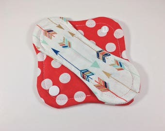 "Cloth Panty Liner 6"" Dots Mix Up"
