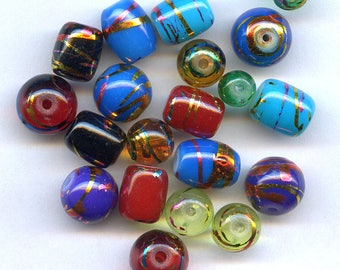 Colorful Combo Assortment of Beads