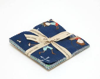 Greatest Adventure by Cinderberry Stitches - 5 Inch Stackers (5-5140-18) - Riley Blake