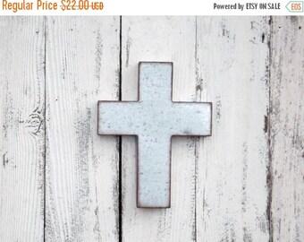 ON SALE Rustic  Wall Cross~Metal Cross~Galvanized Wall Cross