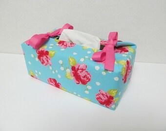 Tissue Box Cover/Rose