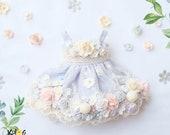 Blythe Polka dot flowers Dress