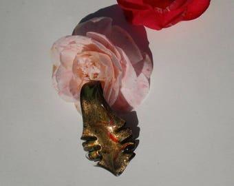 Glass pendant handmade murano style