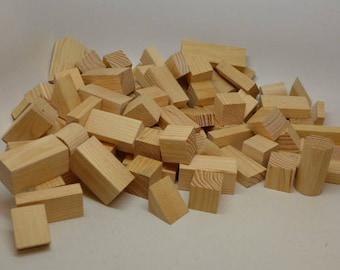 Vintage Building Blocks - 86 - Architectural Blocks - Childs Wood Blocks - Childs Building Blocks