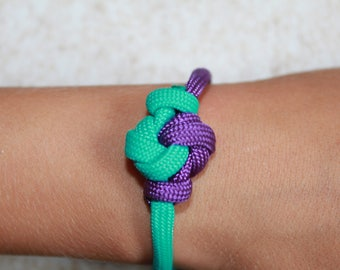 Mandala Paracord Bracelet Custom Colors and Sizes