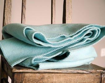 Wool blanket, thick wool balnekt, children wool blanket
