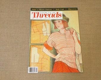 Threads Magazine October November 1989 Back Issue Number 25