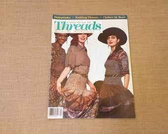 Threads Magazine December 1989 January 1990 Back Issue Number 26