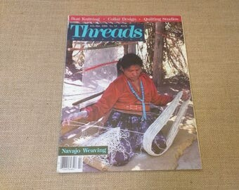 Threads Magazine February March 1988 Back Issue Number 15