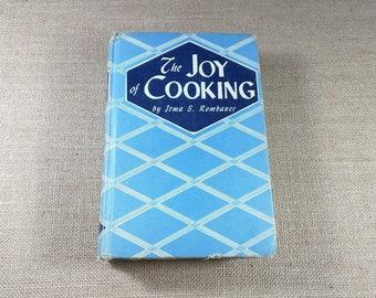 The Joy of Cooking Cookbook Irma S Rombauer 1946 Blue Vintage 1943 Preface