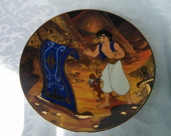 Aladdin Traveling Companions Collector Plate Bradford Exchange