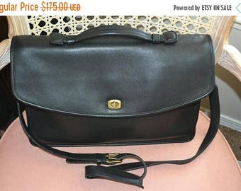 June Savings Vintage~ COACH ~Coach Briefcase~Made in USA~Business Bag~Tablet Bag~Attaches