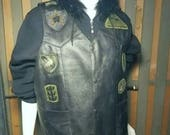 Black Biker vest