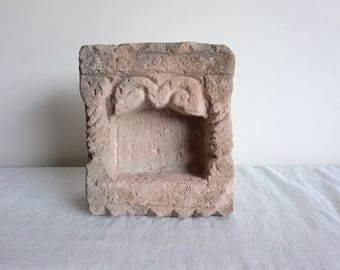 Stone Niche Architectural Salvage Lantern Artifact Listing is for One Lantern