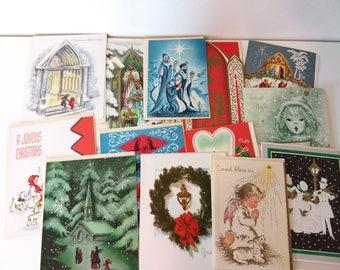 Vintage Christmas Cards unused
