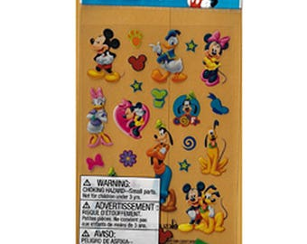 Disney Scrapbooking Mickey Mouse Donald Daisy Duck Minnie Mouse Pluto Goofy Sticker EKSuccess