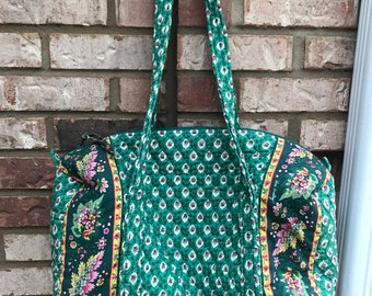 Vintage VERA BRADLEY Duffel & Crossbody Bag