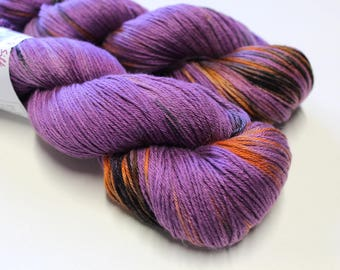 Shine Merino Silk 4 ply yarn - hand dyed