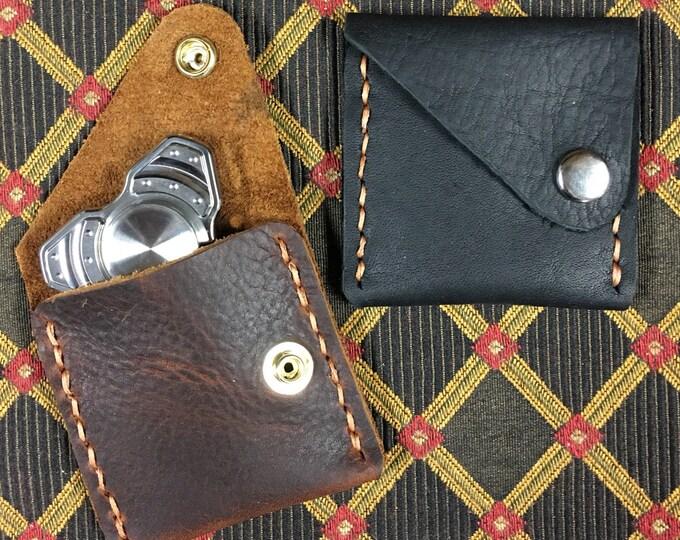Coin/Fidget spinner/challenge coin pouch