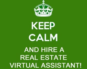 Real Estate Virtual Assistant Customized to Fit Your Business Needs! Real Estate, Business Services, Agent & Broker Assistance, Social Media