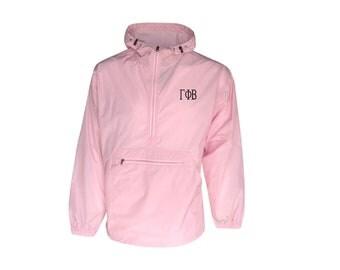 Gamma Phi Beta Unlined Anorak (Pink)