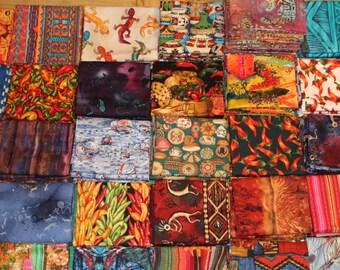 FABRIC DESTASH, Trash to Treasure, fabric scraps, scrap quilt, fat quarter bundles, southwester fabric sale, fat quarter sale.